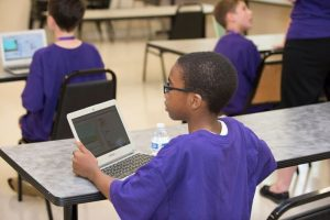 a student at coding camp
