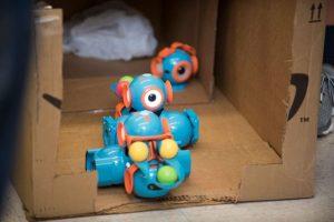 A robot in a box