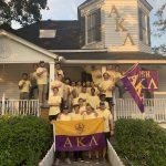Alpha Kappa Lambda Fraternity Group Photo