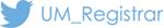 UM Registrar Twitter