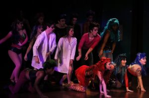 A scene from Rocky Horror Picture Show.