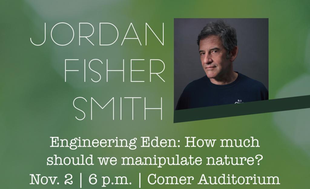 Jordan Fisher Smith Event header image