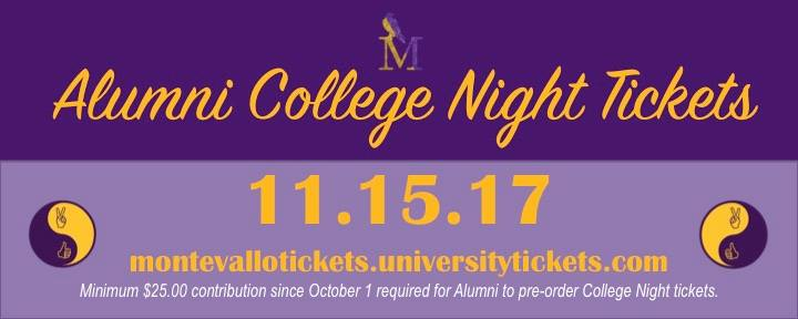 alumni college night tickets 20171115
