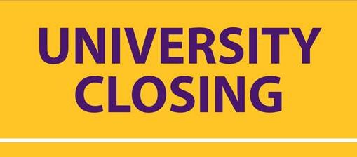 University Closing