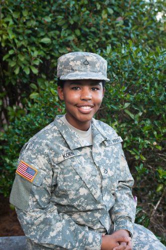 Rebekah Koen uniform
