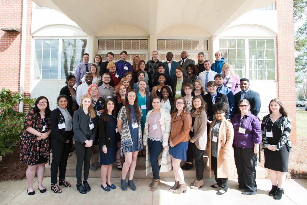 Student participants at Undergraduate Research Day 2018