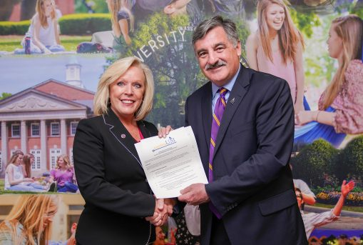 College presidents sign agreement