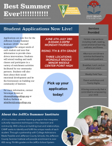 Jefferson County Summer Institute