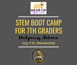 ASU STEM CAMP- 7th Grade