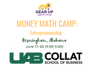 UAB Money Math Camp