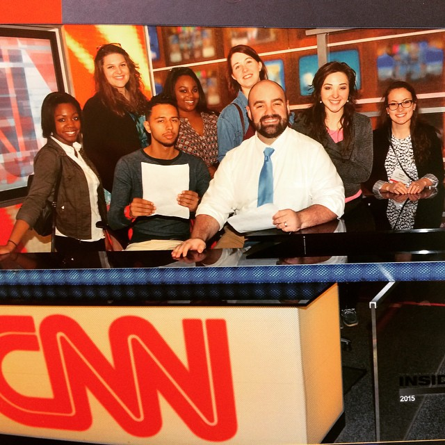 Dr. Finklea with NBS at CNN in Atlanta