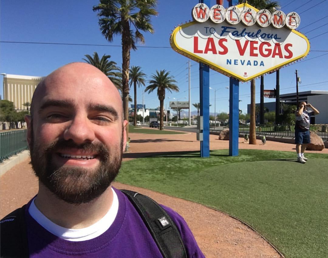 Dr. Finklea in Las Vegas for BEA