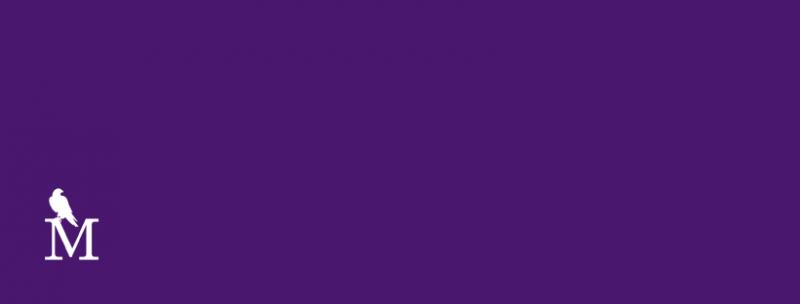 purple m blank