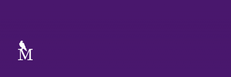 purple m grey blank