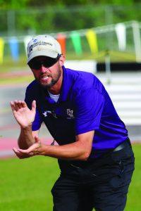 Coach Tommy Barksdale