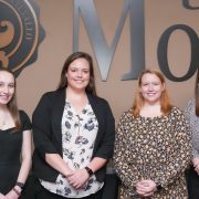 Rebecca Howard with members of the UM SGA.