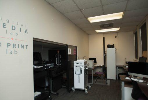 UM 3D print lab