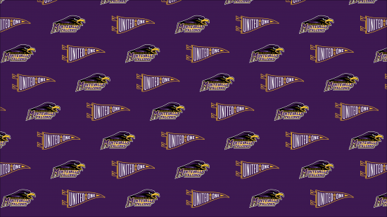 Montevallo Athletics Zoom background logo