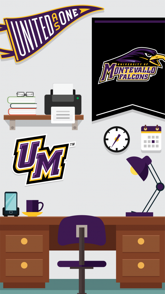 Montevallo Athletics penant wallpaper
