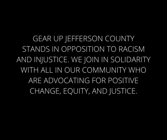 GEAR UP Statement