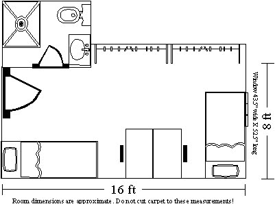 Brooke Room Layout