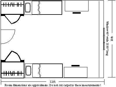Napier Room Layout