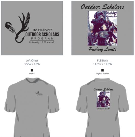 Outdoor Scholars Pushing Limits T-Shirt