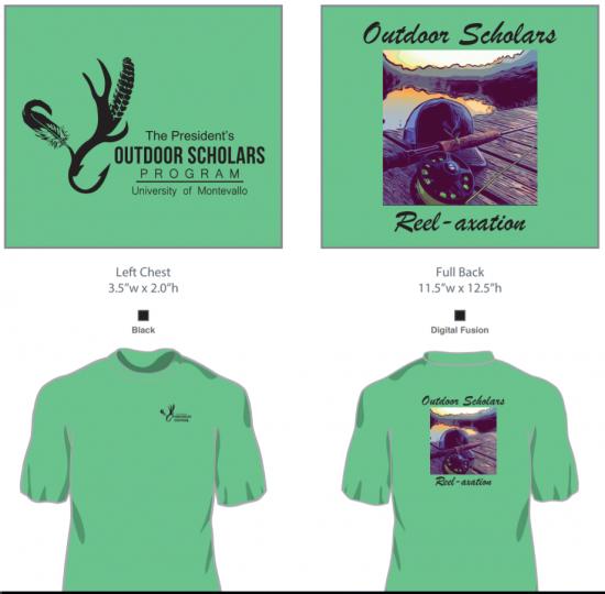 Outdoor Scholars Reelaxation T-Shirt