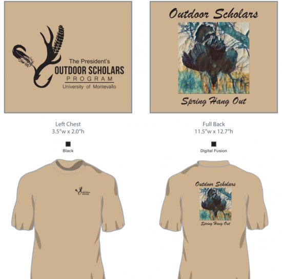 Outdoor Scholars Spring Hang Out T-Shirt