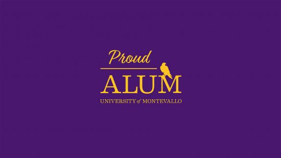 Desktop background Proud Alum Purple