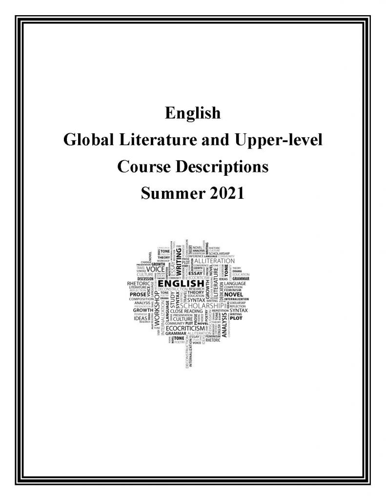Summer 2021 Course Descriptions