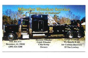 Wheeler Wrecker Service logo