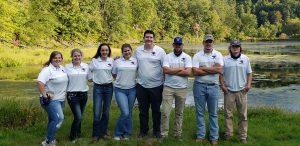 University of Montevallo archery team.