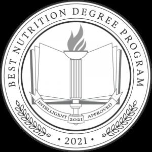 Best Nutrition Degree Programs badge