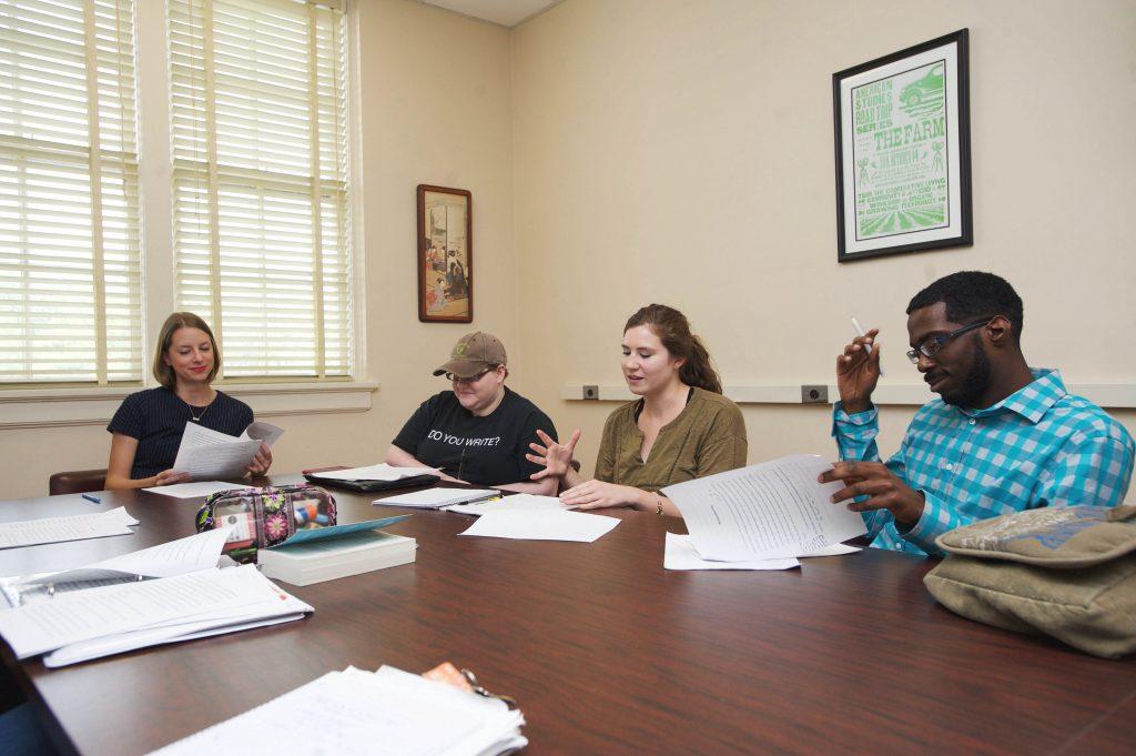 Creative Writing Students