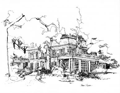 Flowerhill coloring page