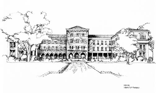 Main Hall coloring page