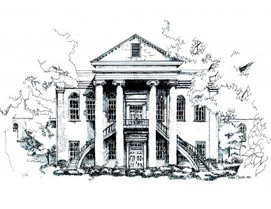 Reynolds Hall coloring page
