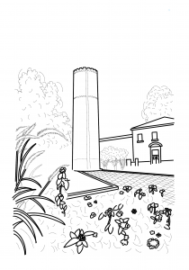 The Tower coloring page