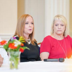 University of Montevallo faculty speak as panel members at an Inclusion Forum.