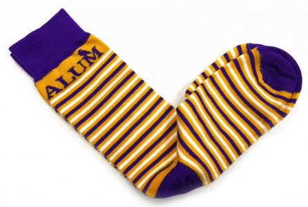 photo of alumni socks