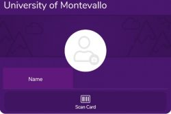 GET App Digital Payment screen with University of Montevallo and Name of Student.
