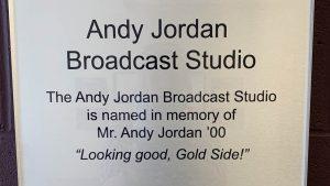 Andy Jordan Broadcast Studio